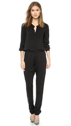 Black Halo Bianca Jumpsuit Black
