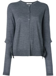 Dorothee Schumacher Elbow Detail Cardigan Grey
