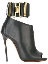 Dsquared2 'Military' Heeled Sandals Black