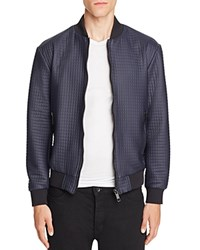 Antony Morato Textured Bomber Jacket Intense Blue