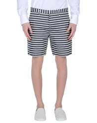 Marc By Marc Jacobs Trousers Bermuda Shorts Men Steel Grey