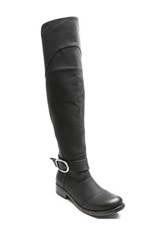 Two Lips Too Jayden Over The Knee Boot Black