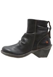 Art Oteiza Ankle Boots Black