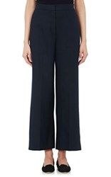 The Row Women's Resme Crop Trousers Navy Blue Navy Blue
