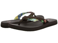 Sanuk Yoga Paradise Chocolate Coral Women's Sandals Brown