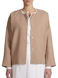 Pauw Egg Shape Jacket Tan