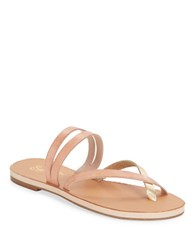 Seychelles Starlet Leather Double Strap Thong Sandals Blush