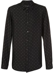 Amiri Dot Print Shirt Black