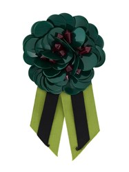 P.A.R.O.S.H. 'Bethne' Brooch Green