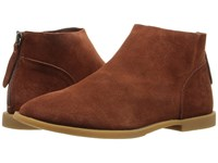 Chinese Laundry Karate Chop Rust Suede Women's Shoes Red