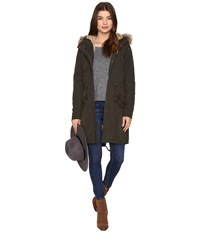 Only Evening Parka Jacket Peat Women's Coat Khaki