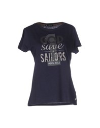 North Sails Topwear T Shirts Women Dark Blue