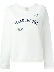 Sea 'Wanderlust' Sweater White