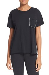 Rag And Bone Women's Jean Stud Pocket Cotton Tee