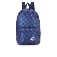 Herschel Packable Day Packs Backpack Light Blue Polka Dot