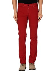 Thinple Trousers Casual Trousers Men Red