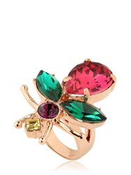 Mawi Love Bug Crystal Ring