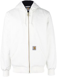 Carhartt 'Snow' Hooded Padded Jacket White