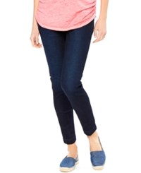 Motherhood Maternity Skinny Ankle Jeans Rinse Wash