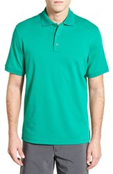 Nordstrom Men's Men's Shop Regular Fit Interlock Knit Polo Green Pepper
