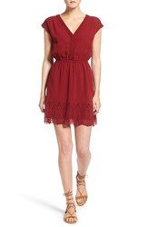 Madewell Women's Short Sleeve Embroidered Minidress