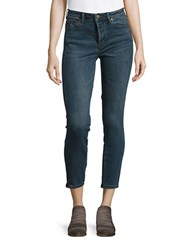 Free People Dark Wash Skinny Jeans Vintage Denim