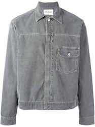Our Legacy Corduroy Shirt Jacket Grey