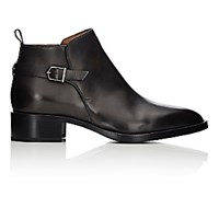Sartore Women's Buckle Strap Ankle Boots Dark Grey