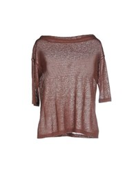 Base London Base Knitwear Turtlenecks Women Brown