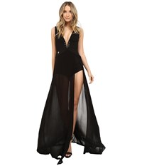 Philipp Plein Just One Night Jumpsuit Black Women's Jumpsuit And Rompers One Piece