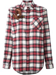 Each X Other Checked Shirt Red