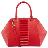 Kristina George Izabelle Top Handle Red