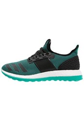 Adidas Performance Pureboost Zg Cushioned Running Shoes Core Black Shock Mint
