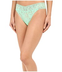 Hanky Panky Signature Lace Original Rise Thong Lime Sherbert Women's Underwear Green