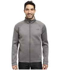 The North Face Upholder Full Zip Tnf Medium Grey Heather Men's Fleece Gray