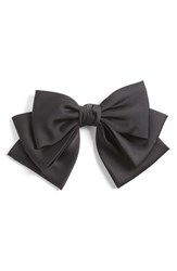 Cara Floppy Satin Bow Barrette
