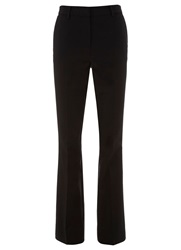 Mint Velvet Black Flare Trouser