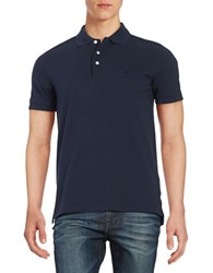 Brooks Brothers Embroidered Polo Shirt Navy