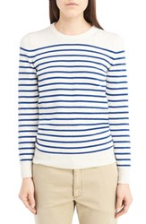 Saint Laurent Women's Grunge Stripe Cashmere Sweater
