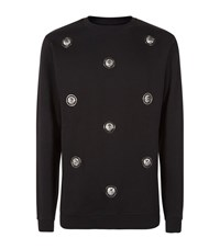 Versus By Versace Lion Head Sweater Male Black