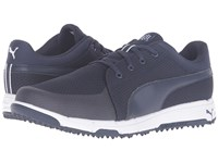 Puma Grip Sport Peacoat White Men's Golf Shoes Blue