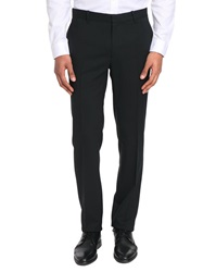 Ikks Slim Fit Black Trousers