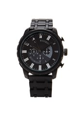 Forever 21 Men Matte Chronograph Watch