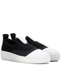 Mcq By Alexander Mcqueen Slip On Sneakers Black