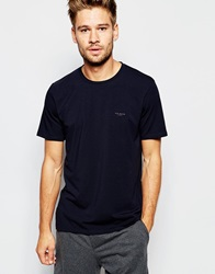 Ted Baker T Shirt And Lounge Shorts Set Charcoal
