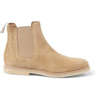 Common Projects Suede Chelsea Boots Neutrals