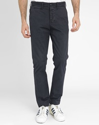 Denim And Supply Ralph Lauren Blue Faded Twill Chinos