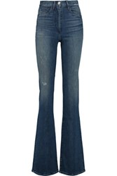 3X1 High Rise Bootcut Jeans Mid Denim