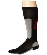 Fox River Vvs Lv Ski Black Grey Crew Cut Socks Shoes
