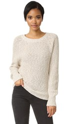 Free People Electric City Pullover White